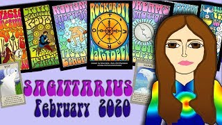 SAGITTARIUS FEBRUARY 2020 Matters of the Heart! Tarot psychic reading forecast predictions