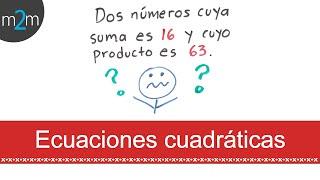Ecuaciones cuadráticas │ compilado de problemas