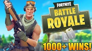 NEW GUN & LOCATION! - 1000+ Wins - Fortnite Battle Royale Gameplay - (PR4 PRO)