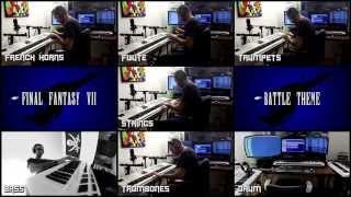 ✔ - FF7 - BATTLE THEME (Cover / Remake)