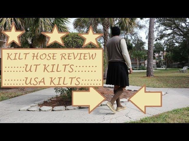 Ep-18: Kilt Hose Review   UT Kilts & USA Kilts