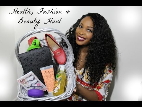 Health, Fashion & Beauty Haul