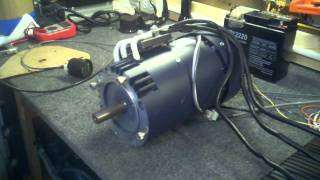 AC-15 Electric Motor Bench Test