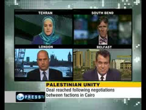 Saeb Shaath, Michael Jones, R Millet Palestininan Unity  'Israel cannot dictate new Middle East