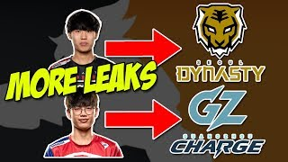 DACO TO SEOUL DYNASTY! SANSAM TO GUANGZHOU CHARGE! WEKEED TO LONDON SPITFIRE!
