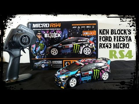 HPI Micro RS4 KEN BLOCK Edition FORD FIESTA RX43- UnBoXiNg & FiRsT LooK