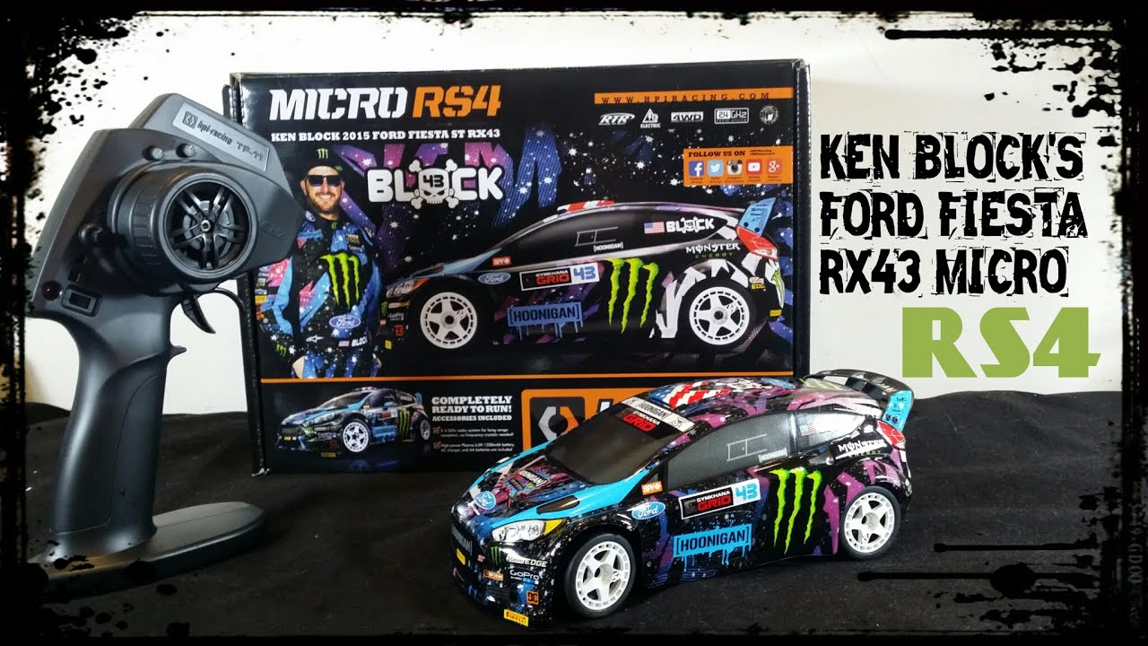 HPI Micro RS4 KEN BLOCK Edition FORD FIESTA RX43 UnBoXiNg & FiRsT LooK