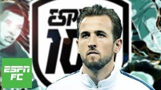 Best strikers of 2018: Is Harry Kane really king?   ESPN FC 100