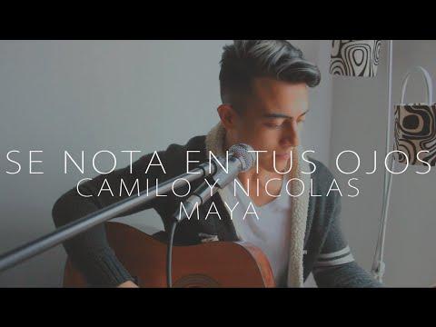 Se nota en tus ojos - Funky (Camilo y Nicolas Maya Cover)