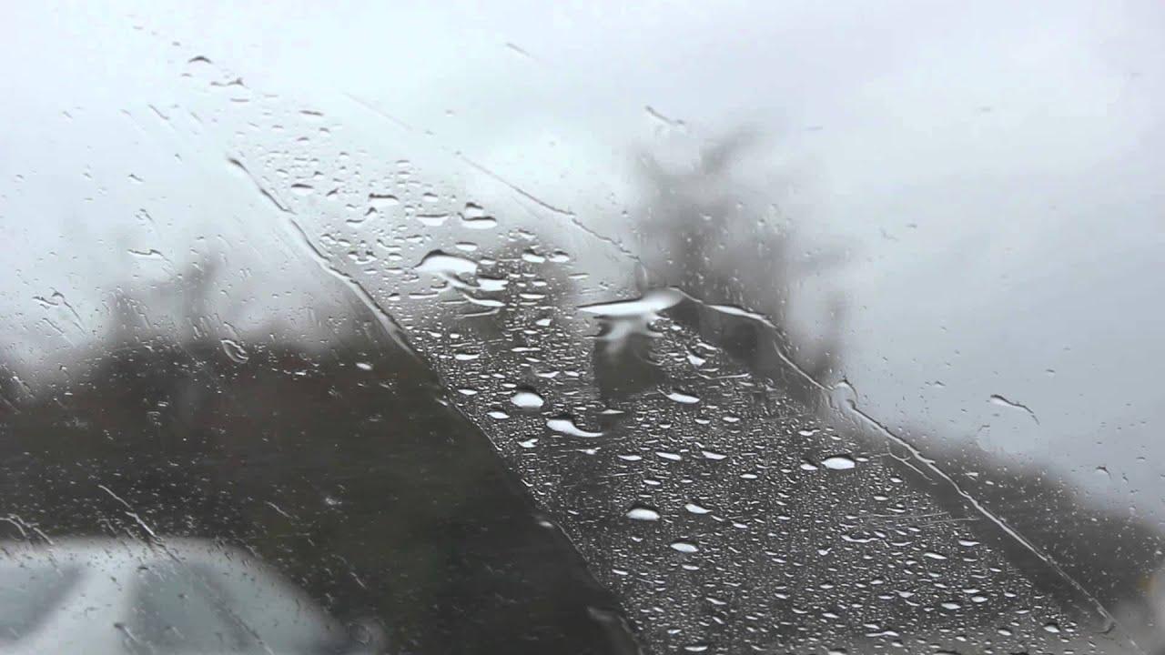 hd video rain drops on windshield public domain free