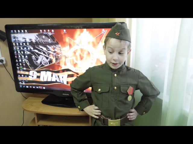 Изображение предпросмотра прочтения – ТимофейСеменов читает произведение «Сын артиллериста» К.М.Симонова