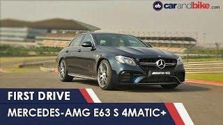 2018 Mercedes-AMG E63S 4Matic+ First Drive