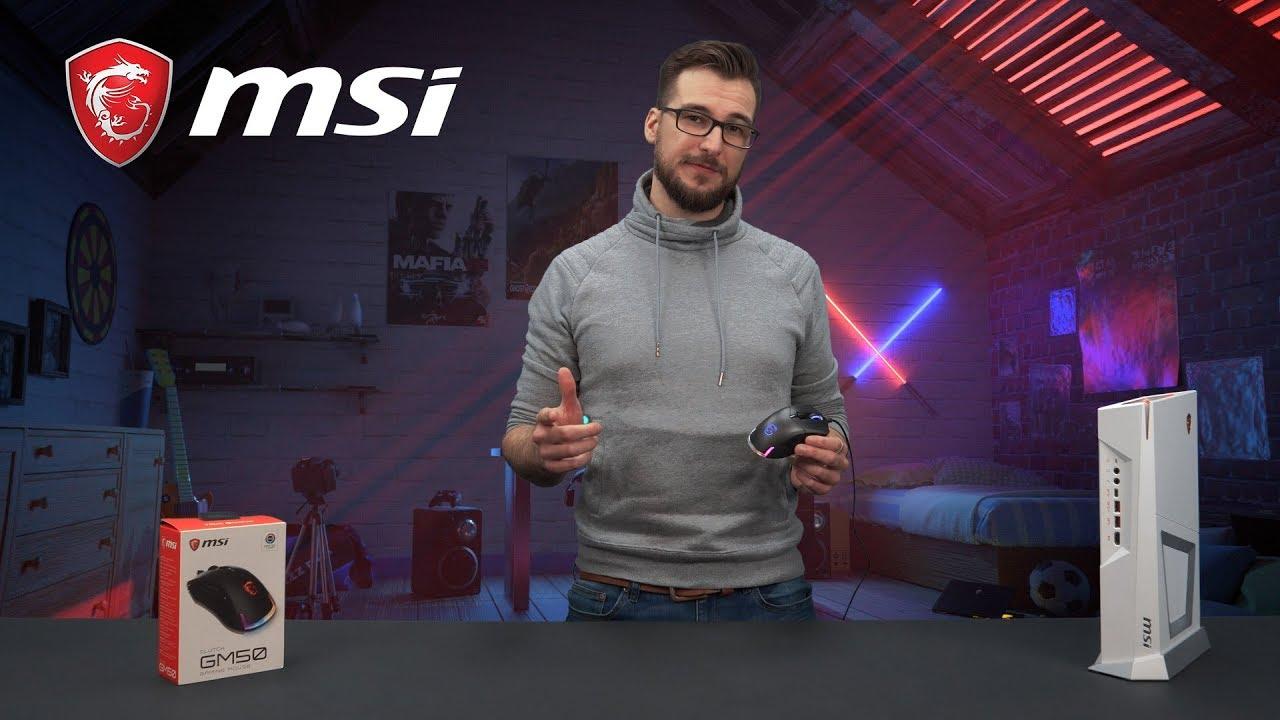 MSI Clutch GM50 - Stworzona do gier FPS!