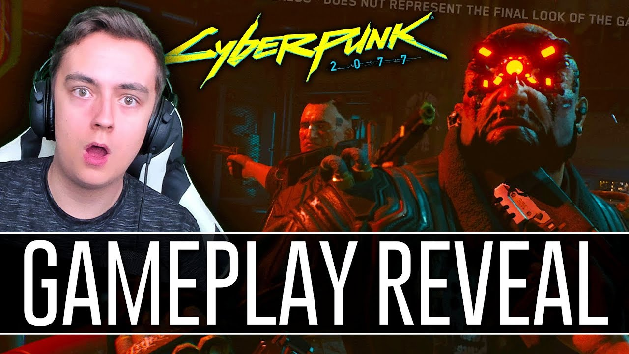 Download Cyberpunk 2077 Gameplay Reveal Demo REACTION! - 48 Minute Walkthrough