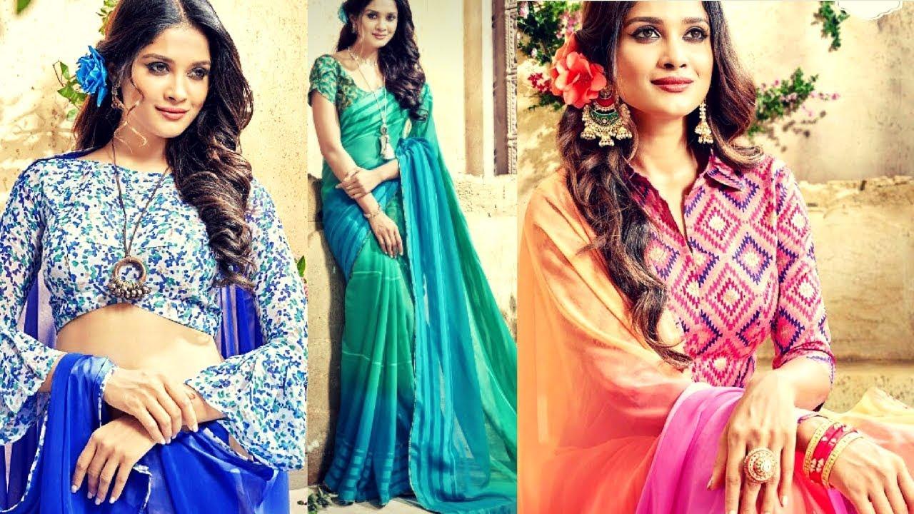 Party Wear Heavy Saree Designs - Latest Style Sarees - Wedding ...