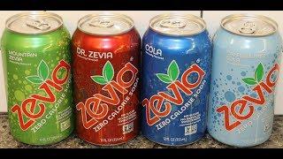 Zevia: Mountain Zevia, Dr. Zevia, Cola, Caffeine Free Cola Review