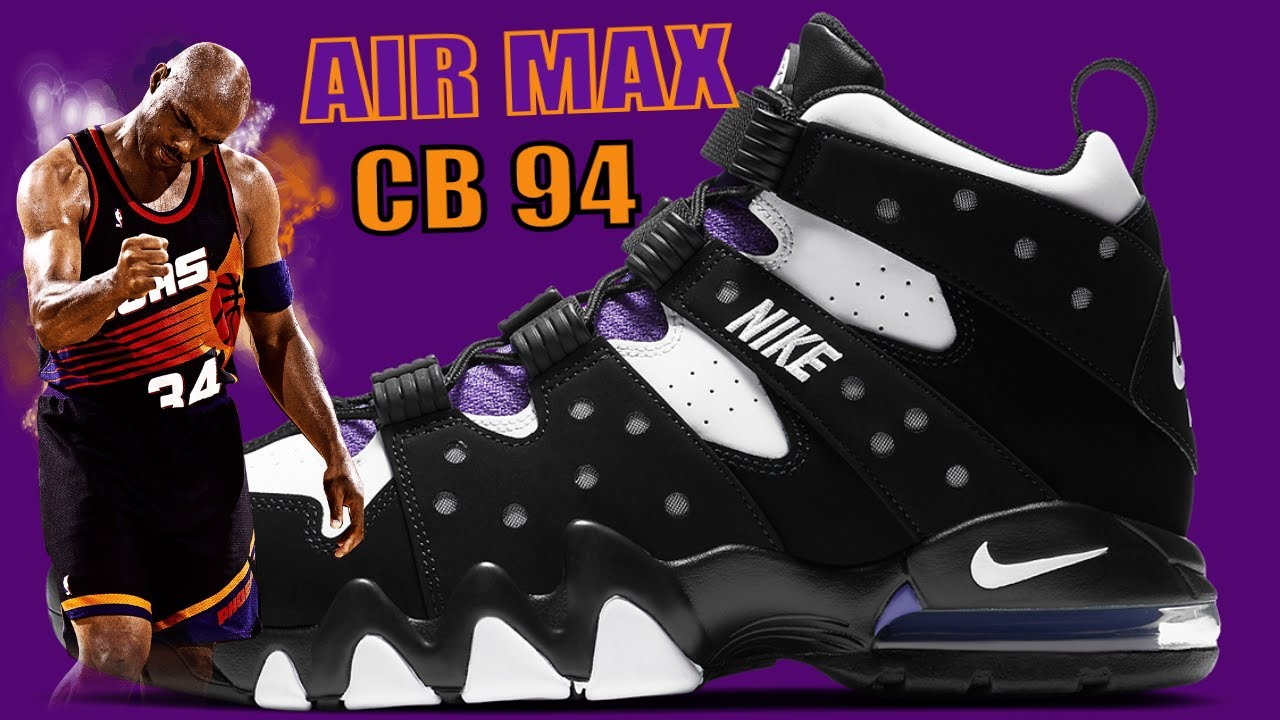 NIKE AIR MAX CB 94 'CHARLES BARKLEY' SNKR REVIEW ON FEET   2020 RELEASE