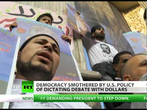 Agenda Dictators: Democracy smothered by US policy of dictating debate with dollars