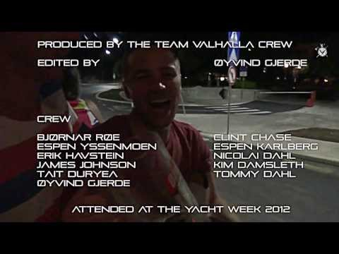 Team Valhalla @ The Yacht Week 2012