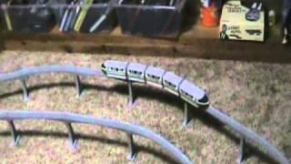 Wooden Train Crash Theatre 15 - Monorail.wmv