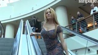 Пранк - флирт на эскалаторе