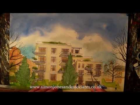 Watercolour  Film, London Realty and DGL/Rolfe JuddArchitects 2
