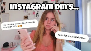 Meine KRANKESTEN Instagram Nachrichten..😱😳😂