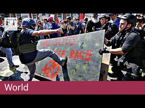 Charlottesville far-right protests | World