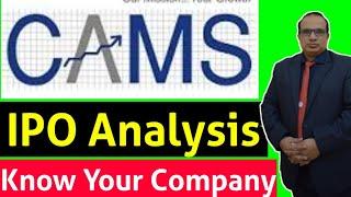 CAMS Ltd : IPO Analysis  by CA Ravinder Vats
