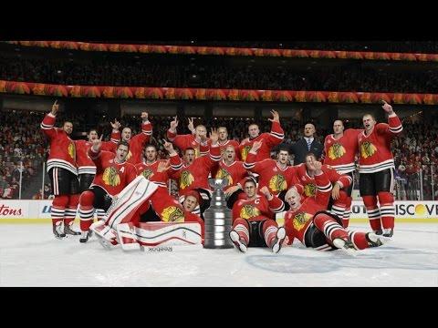 NHL 15 - Chicago Blackhawks Stanley Cup Celebration