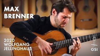 "Regino Sainz de la Maza's ""Zapateado"" performed by Max Brenner on a Wolfgang Jellinghaus ""Torres 43"""