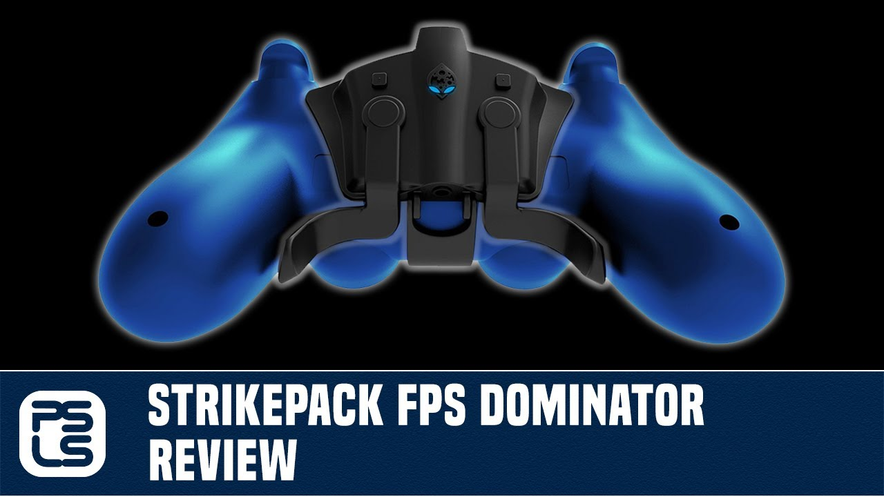 Strikepack FPS Dominator Review - Paddles for Everyone (PS4
