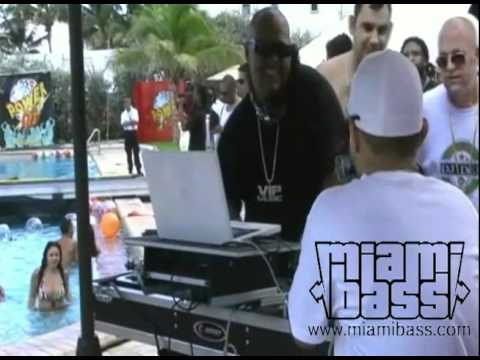 DJ Laz l Power 96 Beach House 2009 l MiamiBass