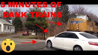 🚅🚅 5 MINUTES DANK TRAINS VS CARS MEMES V1 (WHO WILL WIN?!) 🚗🚗