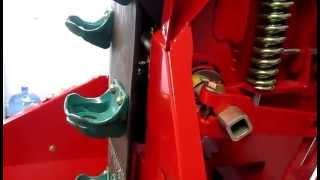 Overview Row Unit on Spudnik Planter