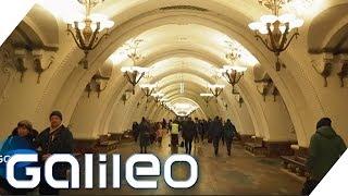 Moskau von Unten: Ein Trip durch Gruselgänge & Prunkpaläste | Galileo | ProSieben