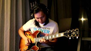 Eric Johnson - Lonely in the night outro solo cover by Jack Thammarat