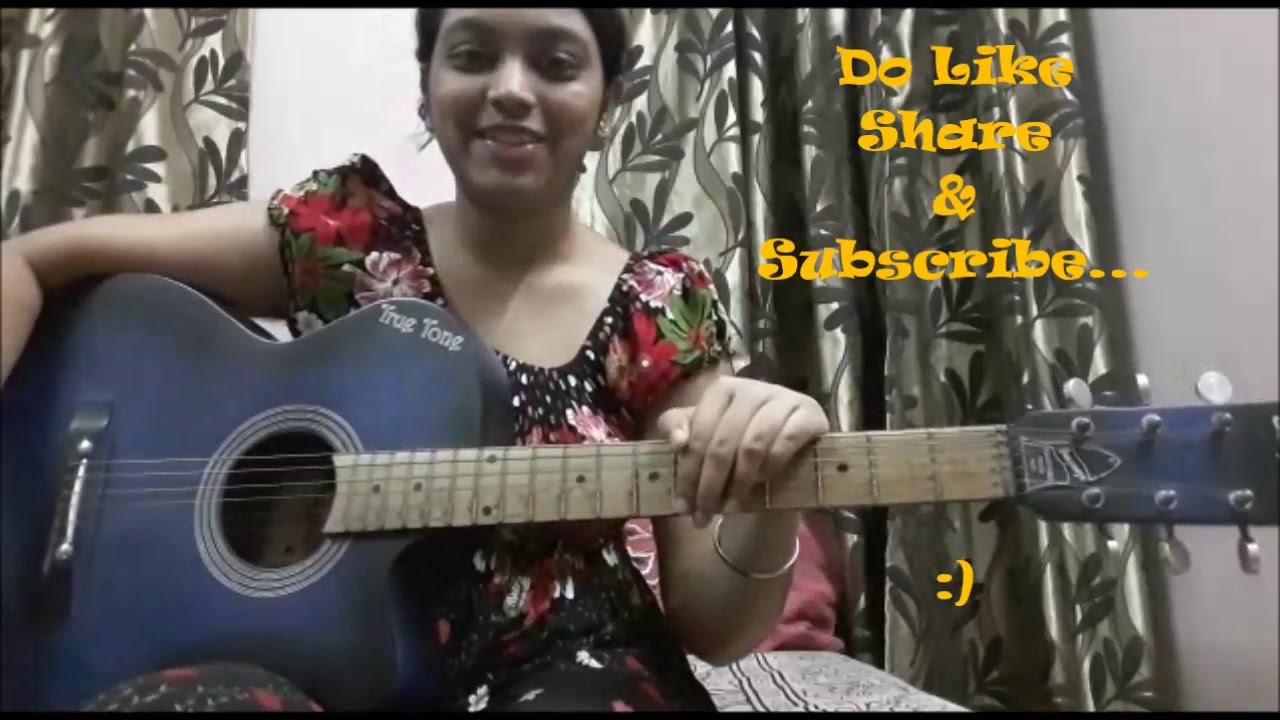 Happy Birthday Single String Guitar Lesson   Absolute Beginners