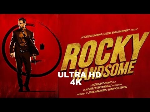 ROCKY HANDSOME Trailer  Ultra HD 4K  Poster