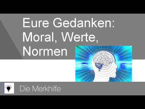eure gedanken zum thema moral werte und normen ethik 7 youtube - Normen Und Werte Beispiele