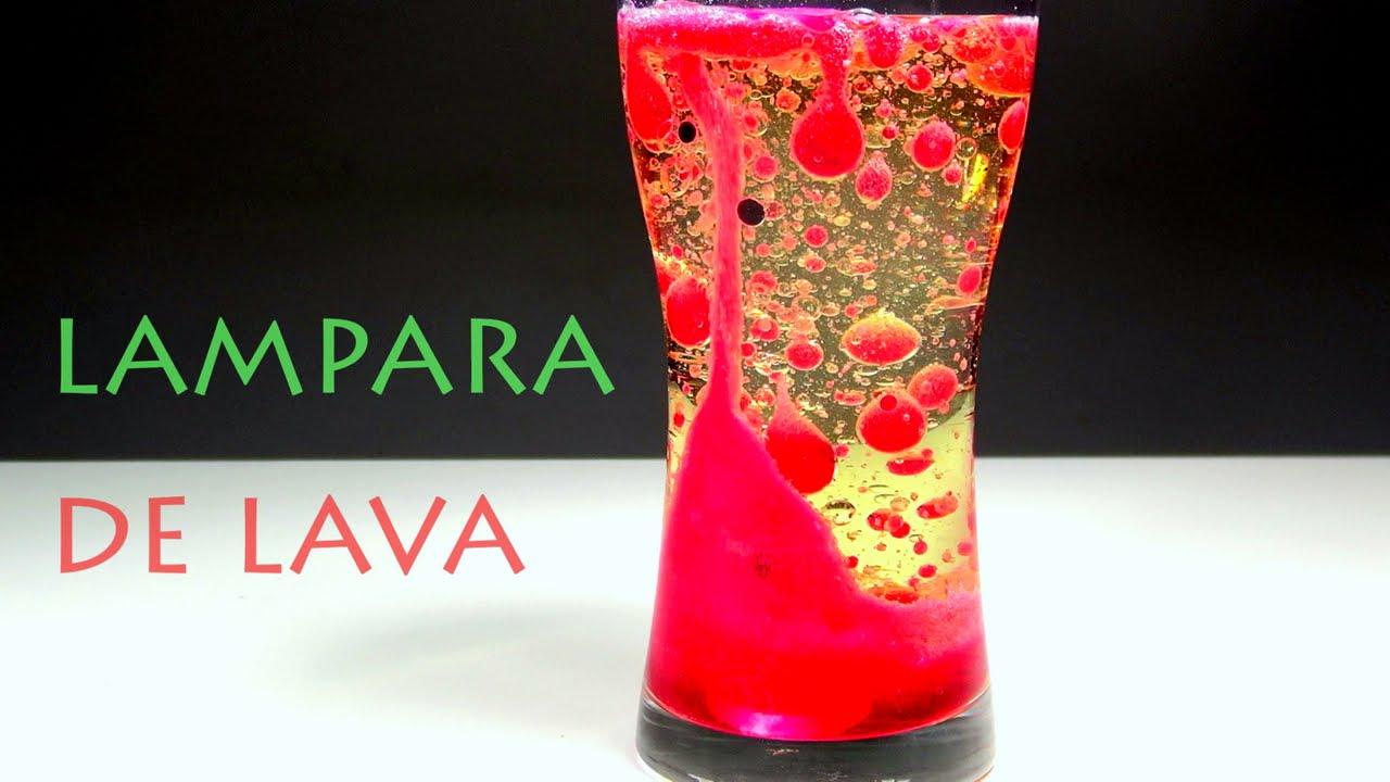 Lampara de lava casera youtube for Lamparas y plafones de pared