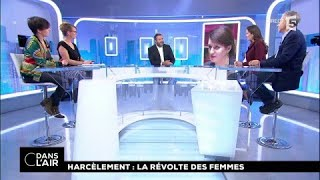 Harcèlement : la révolte des femmes #cdanslair 21.10.2017