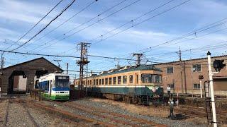 福井鉄道 200型親分が動きます ふくぶせんフェスタ