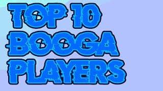 TOP 10 BEST BOOGA BOOGA PLAYERS! *INSANE STATS* | Roblox Booga Booga | Sir Sushi