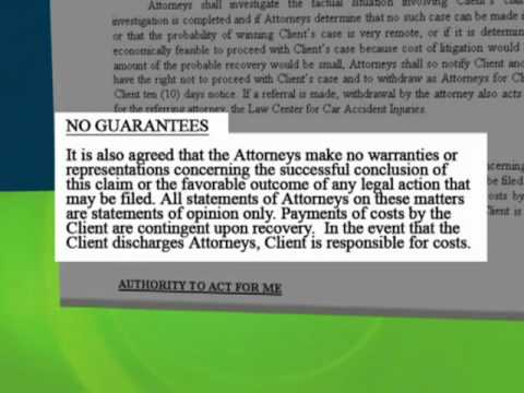 Oklahoma Car Accident Injury Claim Process Chapter 26 - No Guarantees