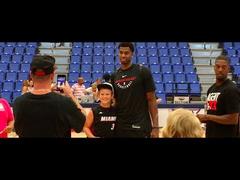 *HE MET HASSAN WHITESIDE + INTERVIEW W/ THE HEAT AND CRAZY HOTEL* - Vlog 31