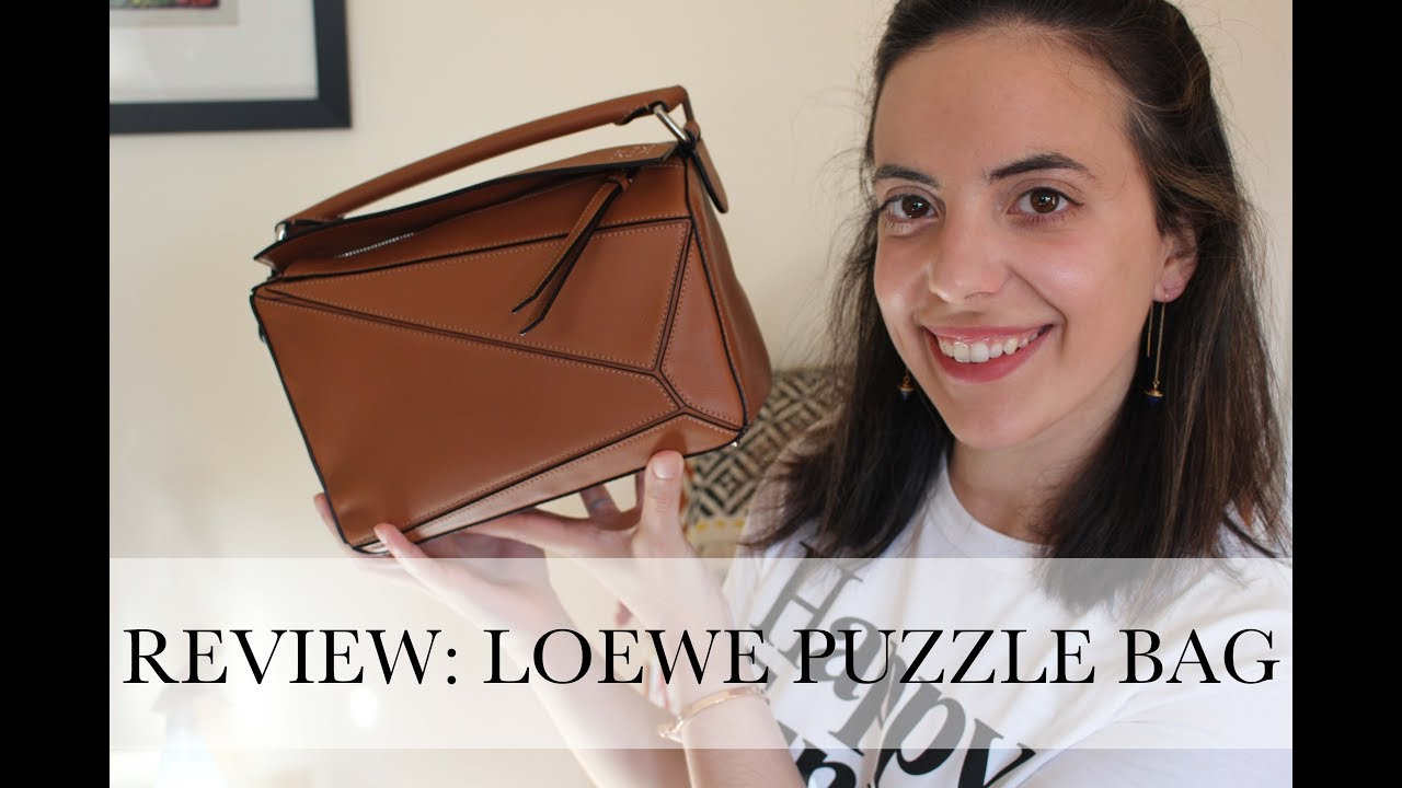 3a8ad225b874 Review: Loewe Puzzle Bag Small - YouTube