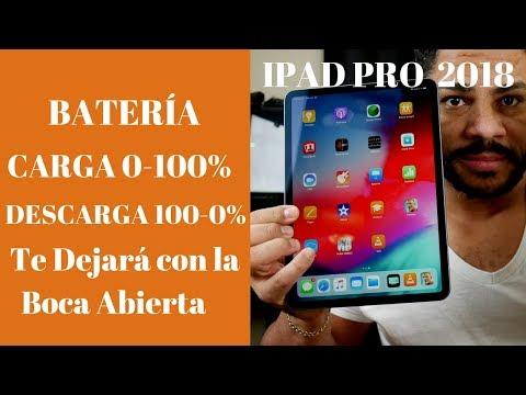 Ipad Pro 2018 Prueba De Bateria Extrema