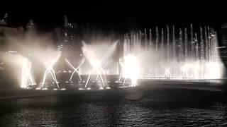 Musical Fountain Show at Burj Khalifa, Dubai Mall