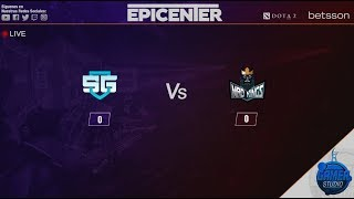 Dota 2 | SG vs Mad Kings | Epicenter XL Día 3 @Patrick | Español en vivo